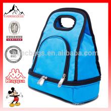 Ланч-боксы мальчиков - изолированный ланч-боксов для мальчиков девочек , синий тепловой обед сумки HCC0029