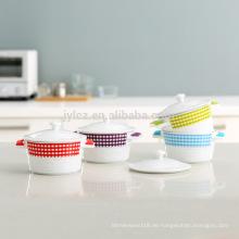 Mikrowellensicheres Keramik-Kasserollen-Set