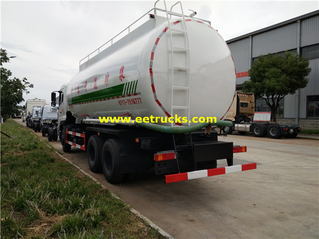 27500L Dry Powder Tanker Trucks
