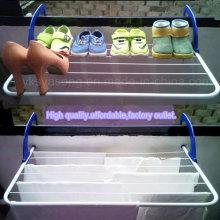 El estante de zapatos del soporte de la toalla del precio bajo atormenta para el radiador del balcón