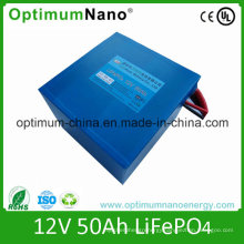 Lithium Ion Battery (LiFePO4) 12V 50ah for Electric Bike