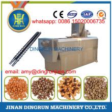 500 kg por hora úmido e seco tipo máquina de extrusão de alimentos para cães
