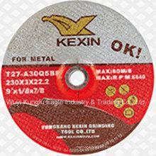 "Resin Grinding Wheel/Grinding Disc for Metal 9"" 230X3X22.2mm"