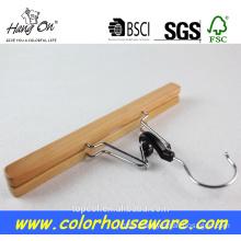 wooden dress hanger stand