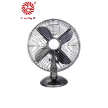 "12"" Electric Table Fan for Desk with Aluminum Blades"