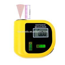 Medidor de distancia ultrasónico Medidor de distancia láser Medidor de distancia láser