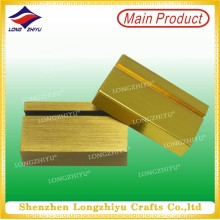 Wholesale Gold Plated Bronze Card Holder