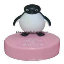 Высококачественная резиновая надувная пластмассовая мини-виниловая виниловая игрушка-пингвин