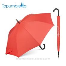 Topumbrella nouveau design Mesdames imperméables mode publicité automatique parapluie droit