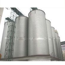sprial seaming type steel grain silo machine
