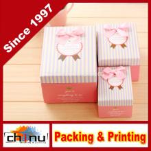 Papier Geschenkbox / Papier Verpackung Box (110246)
