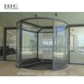 Comercial glass entrance revolving doors