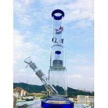 Enjoylie Hbking Glas Wasserpfeife Glas Becher mit Kuppel und Schüssel für Blume Hb-K39