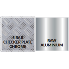 Placa a cuadros de aluminio de aleación 3003