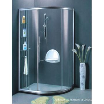 AS / NZS2208 Cuarto de baño de vidrio templado pantallas de ducha (H013B)