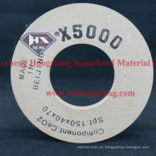 X5000 X3000 Diamante Copa de pulido Rueda de vidrio