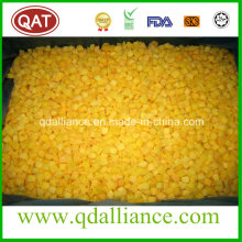 IQF Frozen Diced Yellow Peach with Kosher Certificate