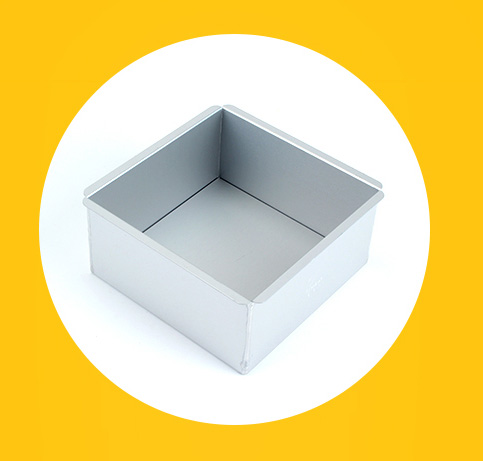 square aluminium alloy cake pan with removable bottom (43)