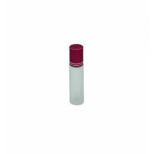 frasco vazio personalizado do rolo do vidro de óleo essencial 10ml geado