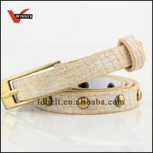 Newest design pu belt with alloy buckle