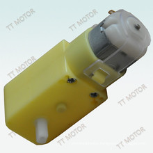 flat biaxial shaft rectangle geared motor 3v 50rpm for toy car