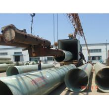 Diámetro subterráneo de la tubería de GRP de 25 mm a 4000 mm