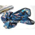 Bufanda de seda de impresión digital