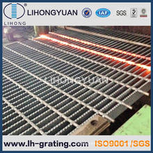 Galvanized Black Serrated Steel Grating for Platform
