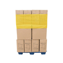Yellow Mesh Reusable Pallet Bungkus dengan Hook and Loop