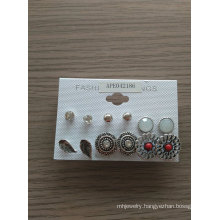 Retro Set Earrings with SGS Approved