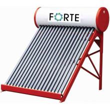 Chauffe-eau solaire à tube sous vide à pression compacte 300L