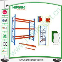Système de rayonnage de palette d'entrepôt pour le devoir résistant