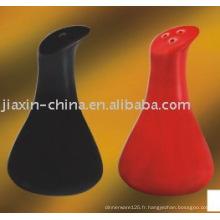 Sel et poivre cearmique JX-79BR