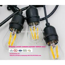SL-33 gros noël pendentif chaîne décorative lumière E26 douille de lampe cordon d'alimentation ca avec interrupteur en ligne