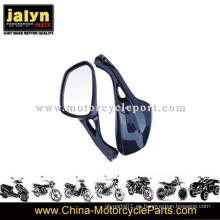 Espejos de retrovisores de motocicleta de ABS barnizados para City 125