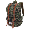 Fresion Water Repellent Laptop Backpack Hiking Rucksack with Large Capacity (Nylon Gray)