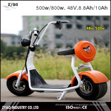 2016 As duas rodas as mais novas coloridas Bateria elétrica customizável colorida do monocromático 800w / 1000W de Citycoco