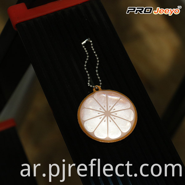 safety walking reflector pendant