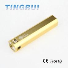 Haute puissance en aluminium rechargeable LED torche à LED
