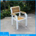 Открытый мебелью из тикового дерева прямоугольник обеденный стол и стул