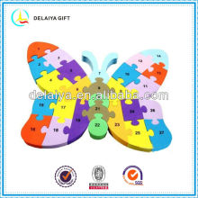 Colorful butterfly DIY EVA foam puzzle for children