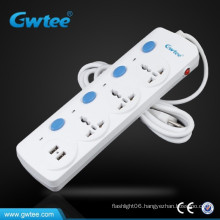 2.1A/3 A USB port extension socket with circuit break for Iphone/Ipad