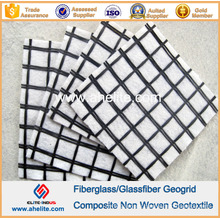 Fiberglass Geogrid Polyester Geogrid Composite PP Pet Nonwoven Geotextile