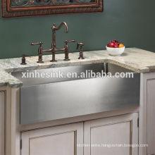 cUPC Stainless Steel Farmhouse Apron Kitchen Sinks with Single Bowl