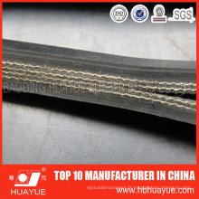 Ceinture en caoutchouc de haute qualité de convoyeur de tissu en nylon