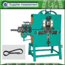 Cables de alambre de acero que hacen y que ruedan la máquina