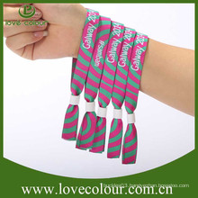 Professional reusable wristbands for party