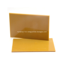Yellow 3240 3mm epoxy resin laminating fibreglass board
