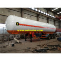 50000L 25ton NH3 Transport tanker مقطورات