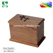 твердые деревянные урны для кремации JS-URN154